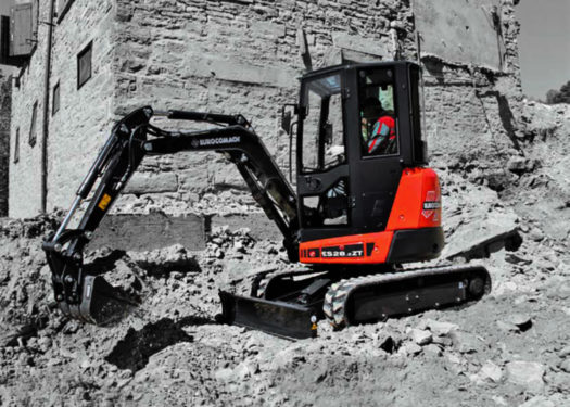ES28ZT Mini Excavator for Sale 2