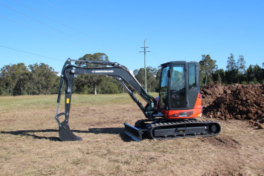 ES57ZT Mini Excavator for Sale 4