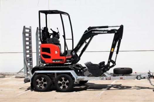 Eurocomach ES18ZT Mini Excavator for Sale 5